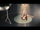 Соня Макурина - pole dance тренировка.