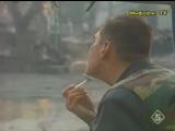 Чеченская война.Солдат  играет