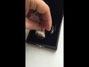 Ионизатор для воды Водолей из серебра 925 пробы с позолотой