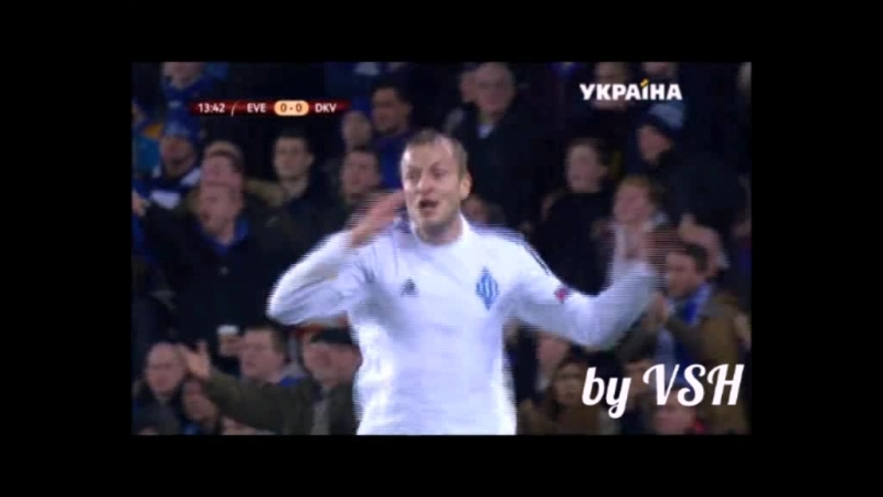 Gusiev goal vs Everton