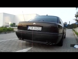 BMW 750 E38 5.4 v12 Magnaflow Exhaust Sound 750i