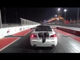 Авария драгстера на базе Lexus