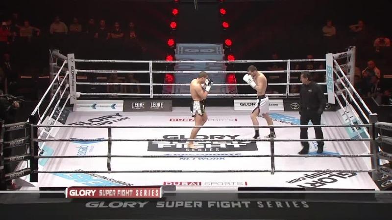 Glory 20 Super Fight Series Anatoly Moiseev vs. Max Baumert