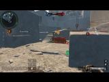 Я играю в Warface на карте Доминация с (CALICO M955A)