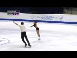 2015 World Junior Championships. Pairs - SP. Lina FEDOROVA / Maxim MIROSHKIN