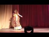 Шуйская красавица 2014. Танцует Анастасия Коробцова Цыганочка с выходом