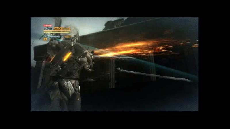 MGR:Revengeance-Часть 2 Я улучшен,мини босс и Босс девушка киборг