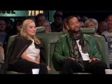 Margot Robie and Will Smith on Top Gear 2015
