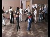 Обучающее видео: танцы латина Cha-Cha-Cha из первых рук. Angel Ortiz урок 3_2