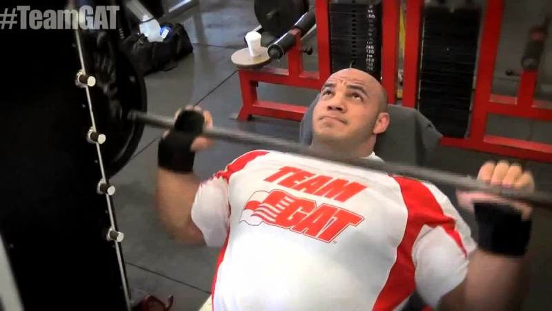 Mamdouh 'Big Ramy' Elssbiay Trains Chest After 2015 Arnold Classic!