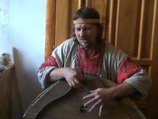 Егор Стрельников на гуслях - Земля Русская