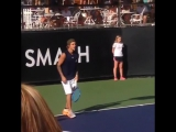 video of Justin at the Desert Smash event in La Quinta, California (March 10)