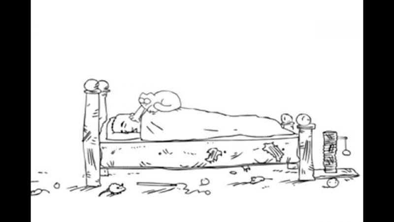 Смешной мультик про кота Саймона маша и медведь