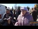 В Первомайске пенсионеры получают четверть буханки хлеба в день, но надеются на победу ЛНР и признаются в любви России