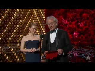 Лучшая операторская работа: Эммануэль Любецки (Гравитация)  (Оскар 2014)