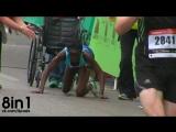 Кенийская бегунья-марафонец от упадка сил дошла до финиша ползком на руках и ногах / Kenyas marathon Hyvon Ngetich finish