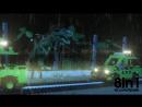 Лего - Парк Юрского периода в стоп-моушн  LEGO JURASSIC PARK stop-motion