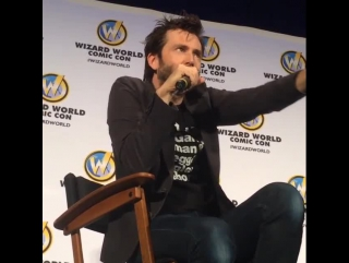 WWCon - DT on who he'd Cosplay as from DW