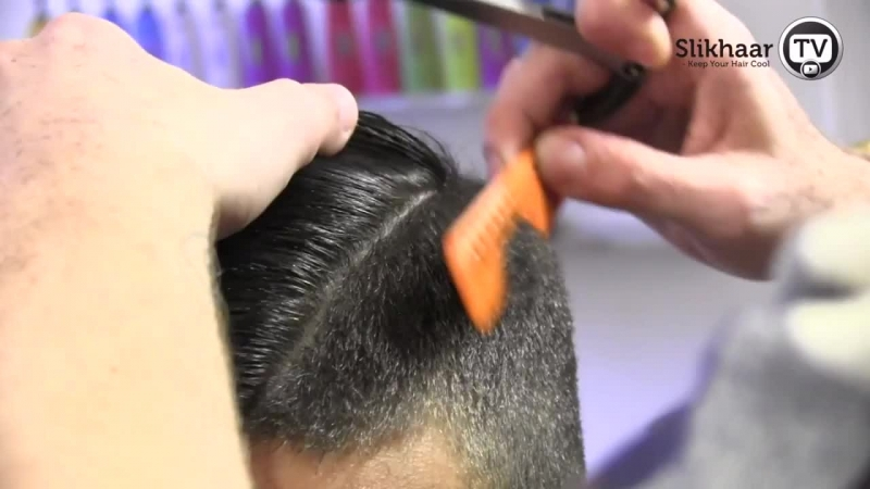 Ronaldo Hairstyle 2012 side cut with razored partning