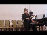 Концерт отдела 20 марта.Титова Алена.