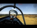 War Thunder Полёт на ЛА 9 с фритреком