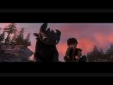 как приручить дракона КЛИП (To the Sky by Owl City  How to Train your Dragon)