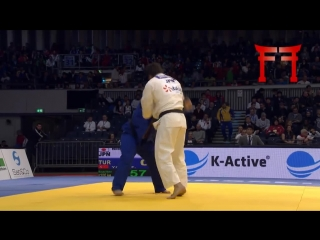 Rafaela Silva (BRA) and Ryu Shichinohe (JPN) both demonstrate how valuable it is in a fight to use transition, at the 2015 Dusse