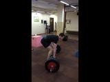 2015-03-17 Саня, становая тяга 85kg