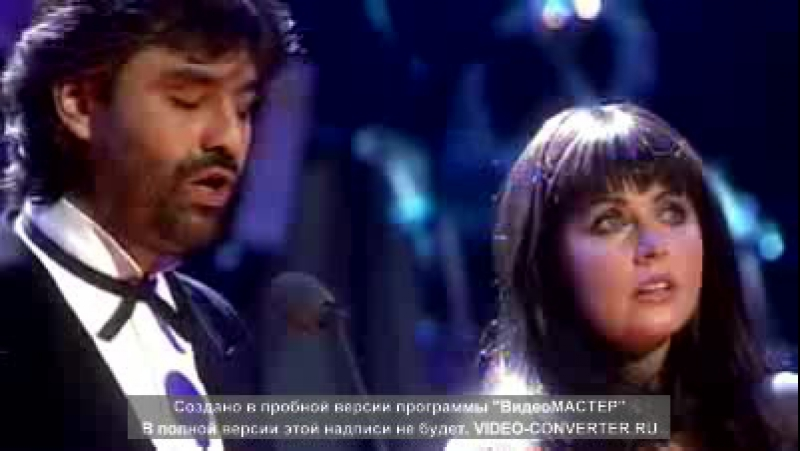 Sarah Brightman Andrea Bocelli - Time to Say Goodbye 1997 Video stereo widescreen.avi