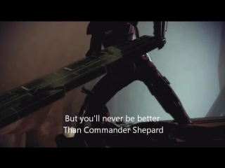 """""""commander shepard""""  by miracle of sound"""