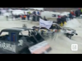 MAD RUSSIAN PEOPLE IN THE UKRAINIAN RACING CARS