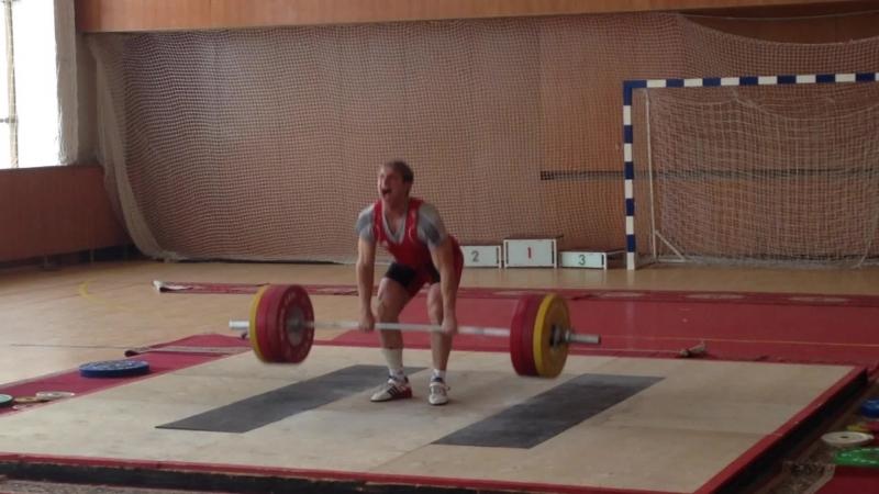 Коношевич Денис толчок 155 кг