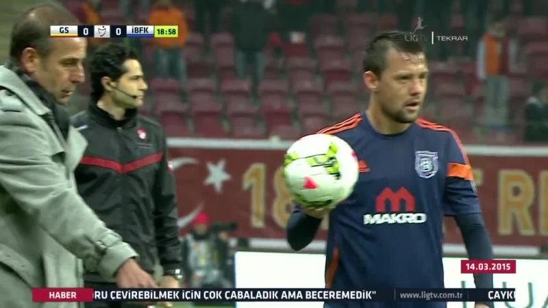 STSL 24 hafta: Galatasaray - İstanbul Başakşehir (1/2)