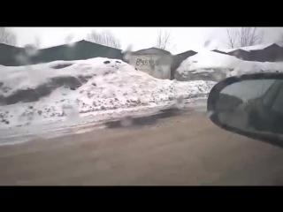 Укладка асфальта) 26.03.15 г.Новосибирск ул.Краузе