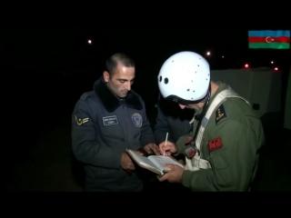 Azərbaycan Hərbi Hava Qüvvələri gecə təlimləri keçirib - YENİLƏNİB FOTO - VİDEO