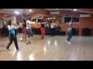 ZUMBA class / Shaggy-Sexy Lady / Katerina Krasnikova / Dance Cafe