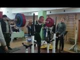 Васильев Игорь - лучший присед 180 кг