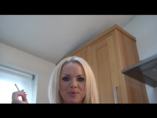 Porno star ∞ glam worship, smoke, blonde