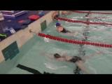 Наталья Попова - Анна Соколова, 50 м, брасс, XII открытое занятие