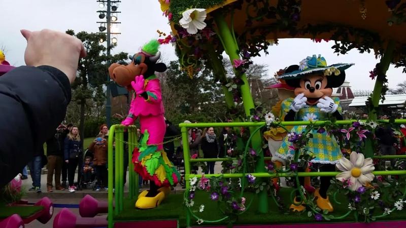 новый парад весна в диснее