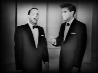 «Elvis Presley And Frank Sinatra».