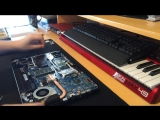 Toshiba Satellite C855 C855D Full Disassembly + Screen replacement