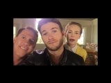 Day 4 Atlanta with Nicholas Sparks and Britt Robertson