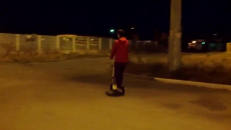 Тестовый заезд Etwow S2 (8.5 Ah) vk.com/escooters