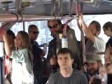 Евангелисты устроили флешмоб в троллейбусе. 2013 год. Новороссийск. Автор Аркадий Лебедев