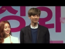 [NEWS] 150312 Чанёль на пресс-конференции Jangsu Shop 8