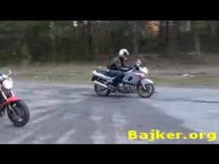 Suzuki Bandit 400 и Kawasaki ZZR 400_low