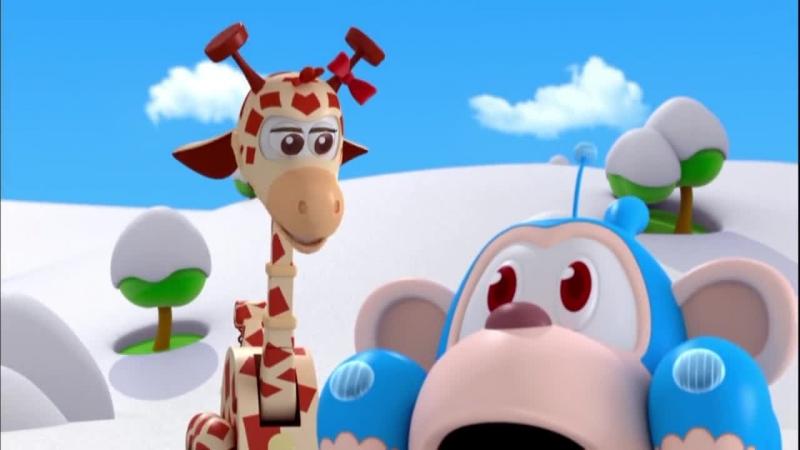 Врумиз - Снежный день (мультик 20) - Мультфильмы для детей