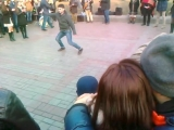 Уличные танцы))) Весенняя лезгинка