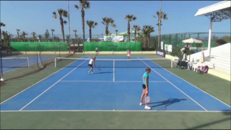 ITF Women Heraklion 10k R1 2015 Kairi / Primorac vs Kobelt / Zlatanova